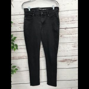 🌺 OLD NAVY curvy mid rise black jeans